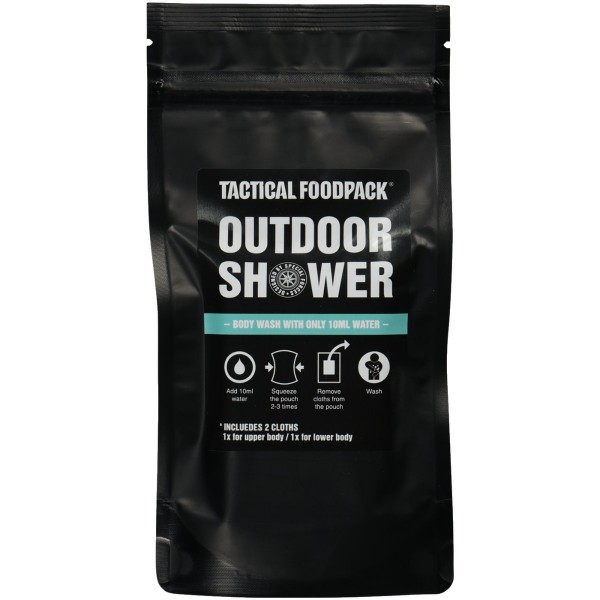 Tactical Foodpack Outdoor Shower Waschlösung
