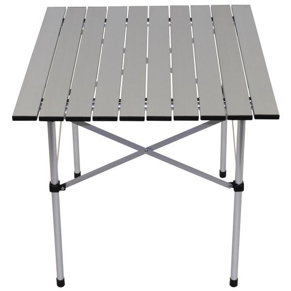 Aluminium Camping Rolltisch 58x58cm