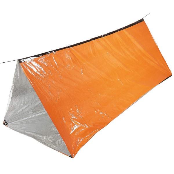 Survival Notfall Zelt 2 Personen signal-orange