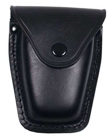 Leder Handschellenetui schwarz