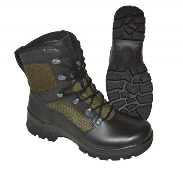 Militaria Nato-shop Haix Original Bw Kampfstiefel Goretex Tropen Stiefel Leder Bundeswehr Schuhe
