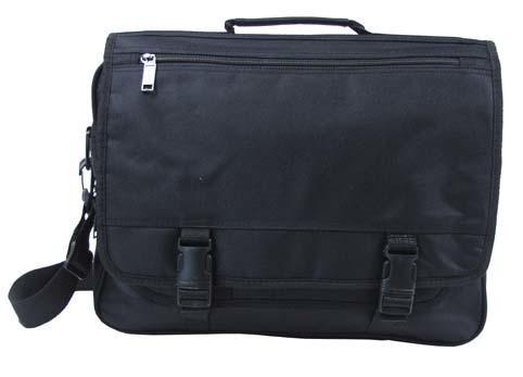Notebook Tasche mit Trageriemen schwarz