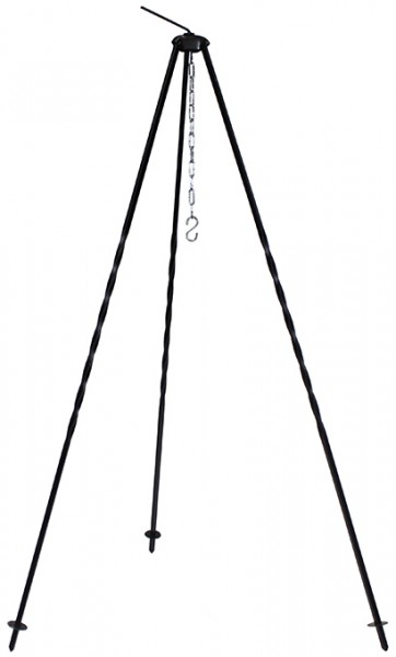 Dreibein für Gulaschkessel und Pfanne Höhe 1,2m