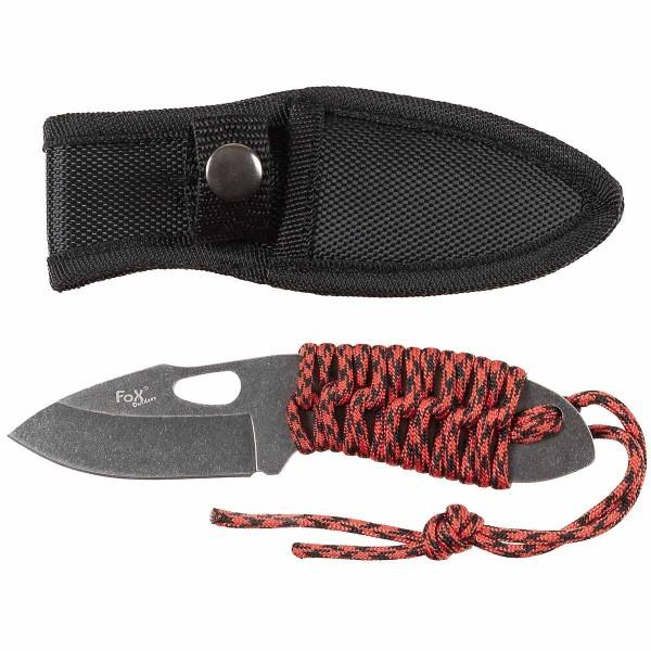 Messer Red Rope feststehend klein