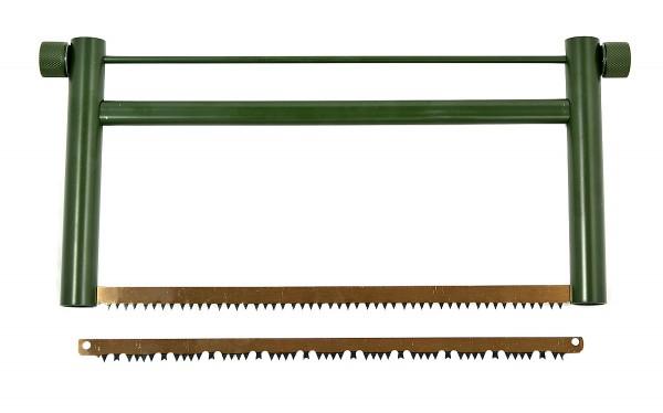 Outdoor Alu Spannsäge mit 2 Sägeblätter