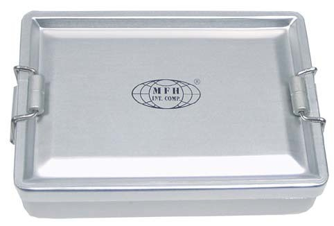 Wasserdichte Alu BOX silber