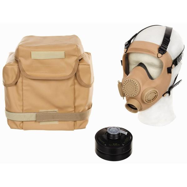 Poln. ABC Schutzmaske MP5 mit Filter khaki
