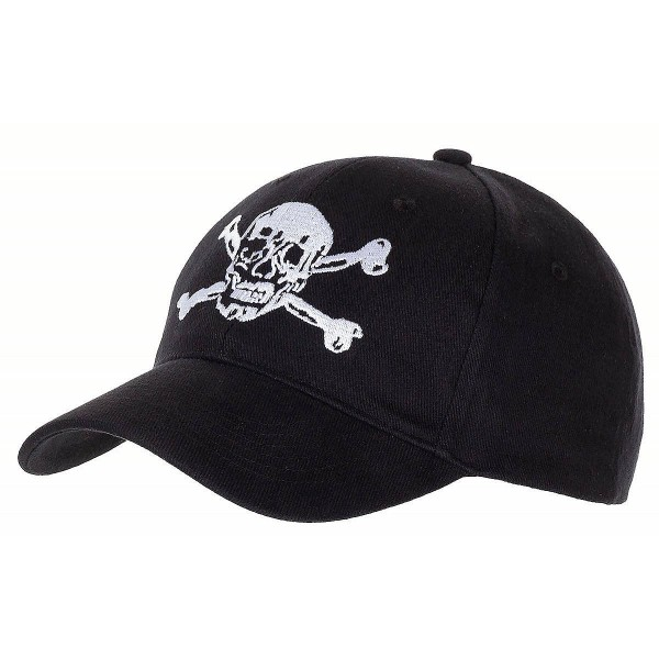 US Cap Totenkopf schwarz