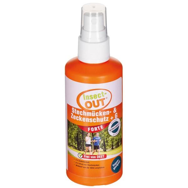 Insect Out Stechmücken- Zeckenschutz Forte 100ml