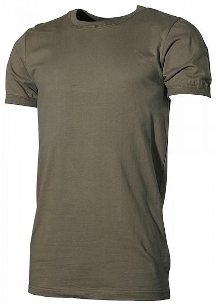 Bundeswehr Unterhemd kurzarm oliv