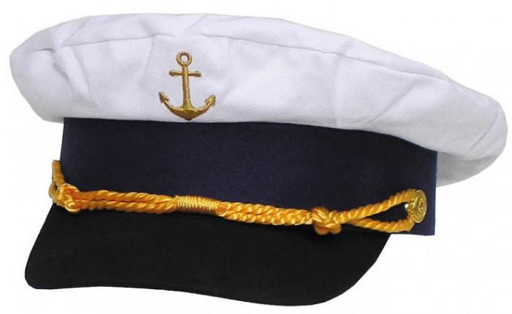 Marine Schirmmütze gold bestickt