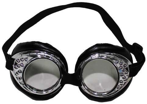 Brille Cabrio chrom