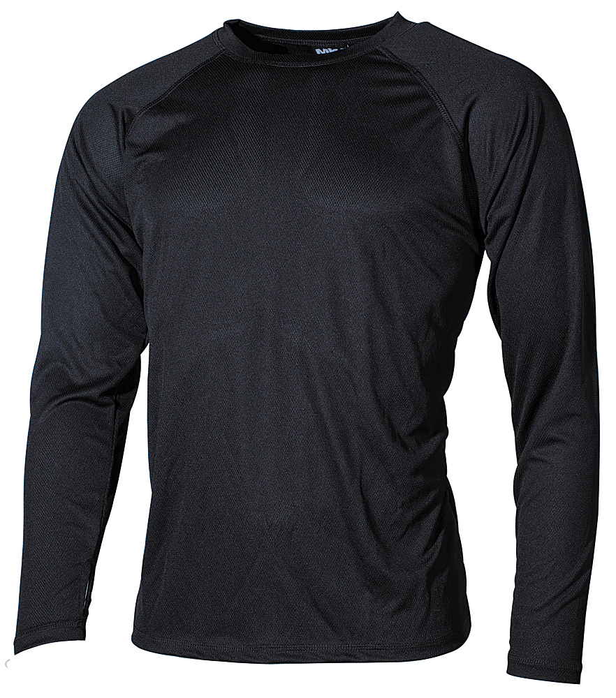 MFH US Unterhemd Level I GEN III Army Hemd Pullover Schwarz Oliv Coyote S-XXL