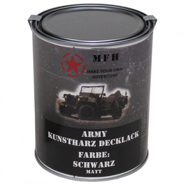 Farbdose Army matt 1 Liter