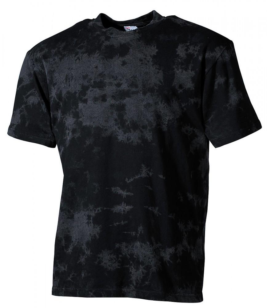 clubwear t shirt batik schwarz bei bw. Black Bedroom Furniture Sets. Home Design Ideas