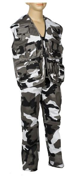 Kinder Anzug Weste + Zip-Off Hose