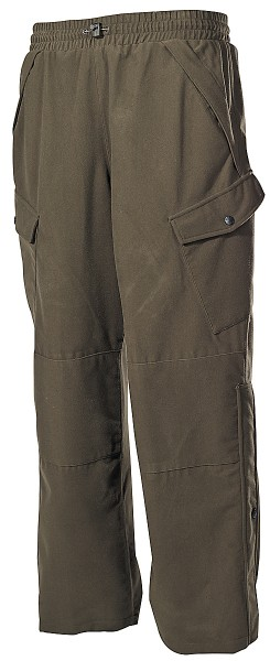 Outdoor- Jagdhose Poly Tricot oliv