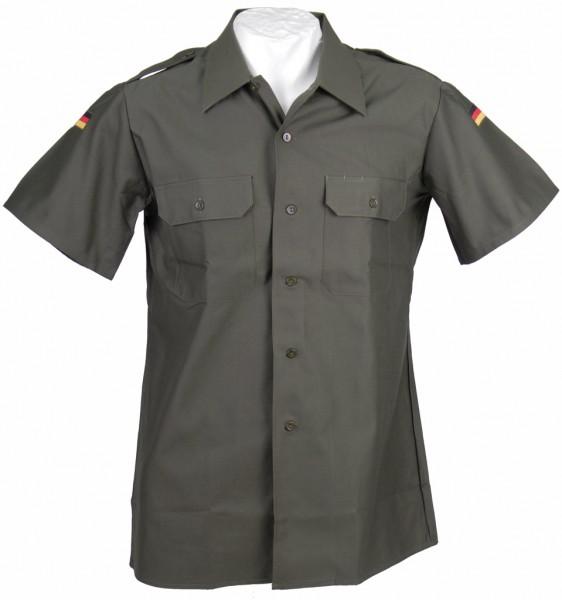 Bundeswehr Feldhemd oliv kurzarm