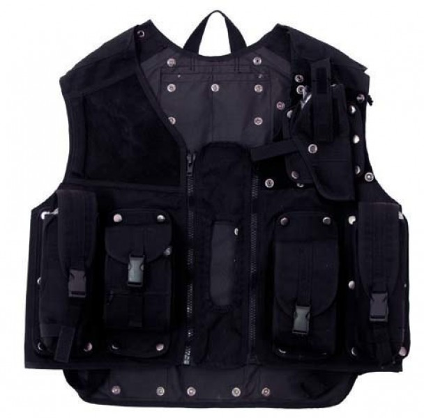 Taktikweste SWAT schwarz