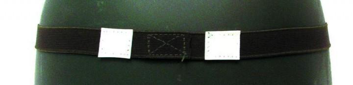 US Helmgummi mit Reflektoren oliv