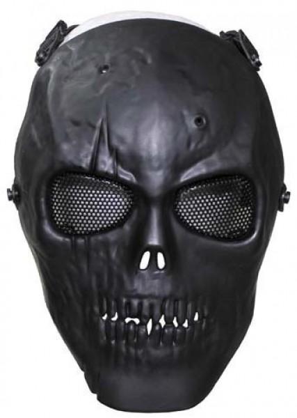 Gittermaske Totenkopf