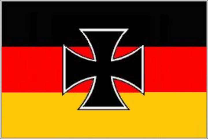 Flagge Deutschland/Eisernes Kreuz