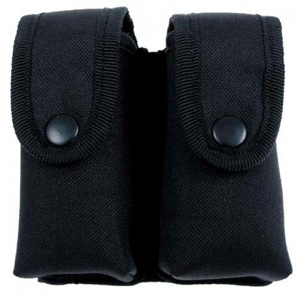 Magazintasche doppelt schwarz