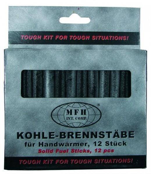 12 Stück Brennstäbe für Kohle Handwärmer
