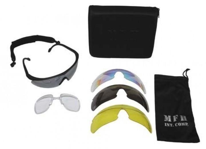 Sportbrille Storm schwarz