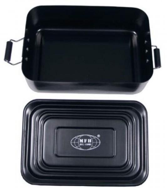 Wasserdichte Metall BOX schwarz