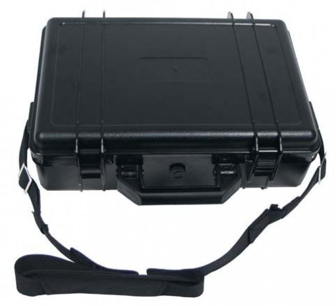 Kunststoff Koffer 39x29x12 schwarz