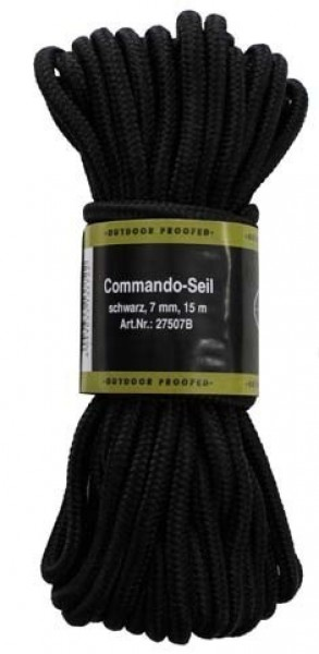 Commando Seil 7mm, 15m