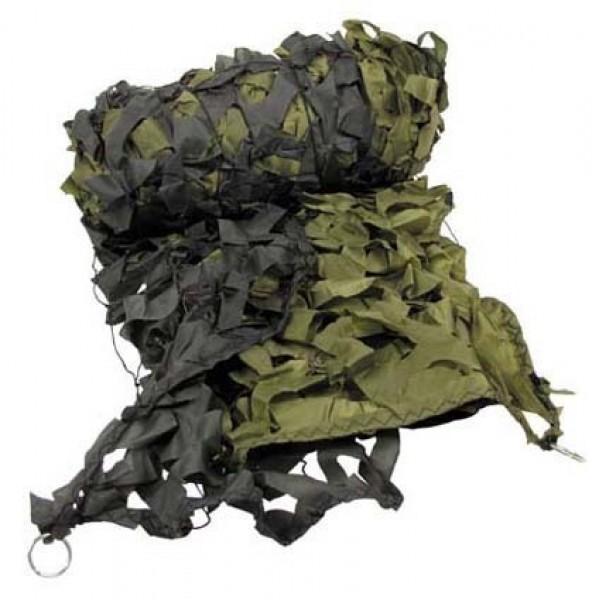 Tarnnetz 6x3 m oliv-tarn