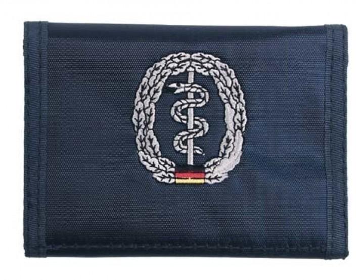 Geldbörse blau Truppengattungsabzeichen