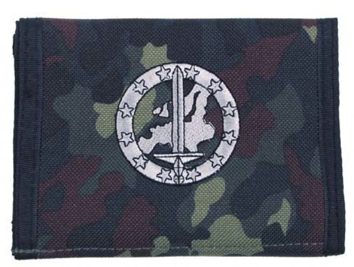 BW Portemonnaie Flecktarn Truppengattungsabzeichen