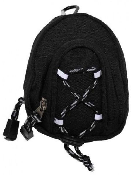Fototasche mit Kordel schwarz
