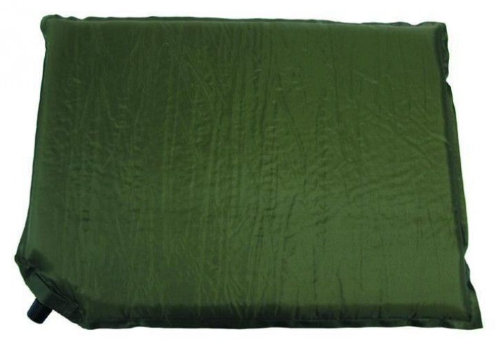 Sitzkissen selbstaufblasbar oliv