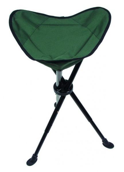 Teleskop Dreibein Hocker oliv