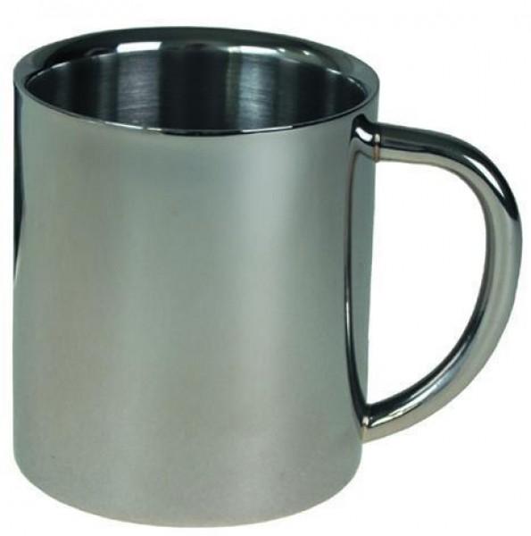Edelstahl Tasse doppelwandig 250ml