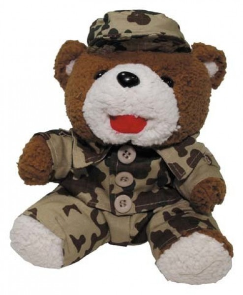 Teddybär tropentarn H=22cm