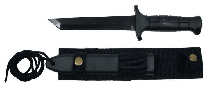 Bundeswehr Kampfmesser 2000 - Import - schwarz