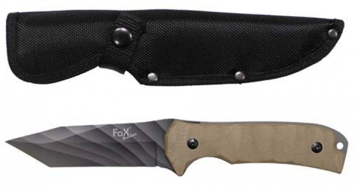 Fox Knive Messer Kojote I