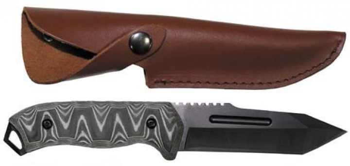 Fox Knive Messer Tanto black