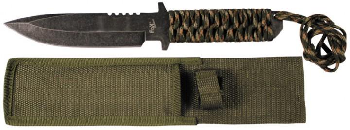 Fox Outdoor Messer mit Leinengriff tarn