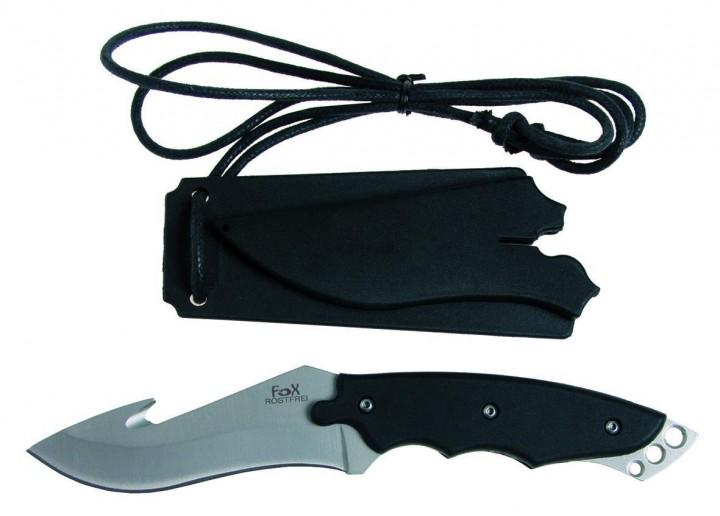 Fox Messer Neck mit Aufreißhaken