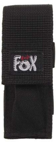 Fox Messer-Etui schwarz groß