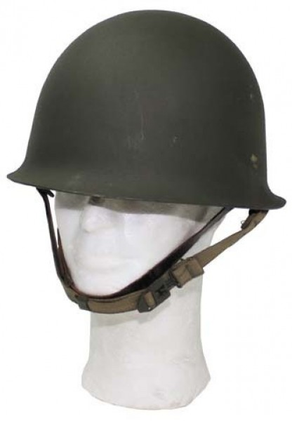 Original französischer Stahlhelm M51 oliv