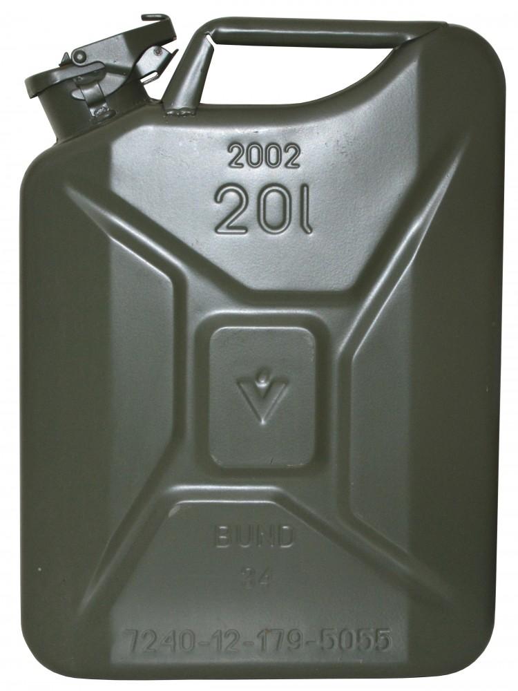 kraftstoff kanister profi 20l f r benzin diesel und. Black Bedroom Furniture Sets. Home Design Ideas