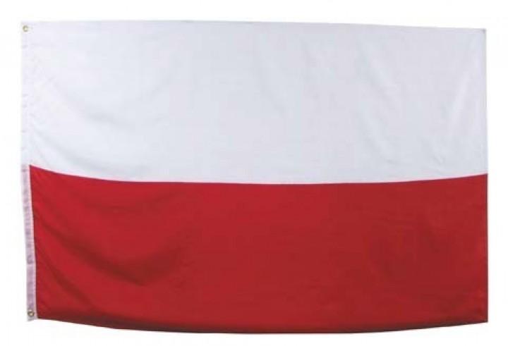 Flagge Polen ohne Adler