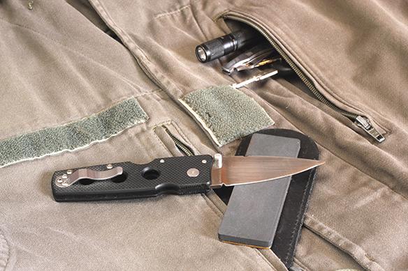Survie edc couteau survivalisme